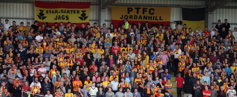 Jags fans pack the Shed End and bask in their first glimpse of top flight football since 2004.