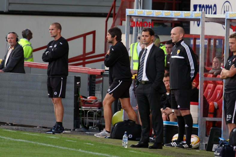 Jackie McNamara lines up against unbeaten Thistle boss Alan Archibald on his return to Firhill.