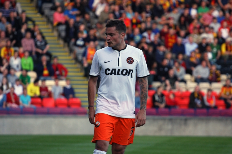 Paul Paton returned to Firhill after his summer move to Tannadice.